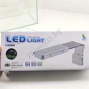 Аквариумный светодиодный светильник D-5 LEDx27,7,5W, белый, 3 режима работы, сенсорный переключатель