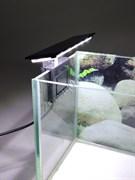 Аквариумный светодиодный светильник X3 LEDx12, 5W, черный