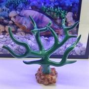 Декорация флуоресцирующая Коралл голубой