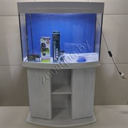 """Аквариум Aqua """"телик"""" на 150 л с Led освещением, тумбой и оборудованием"""
