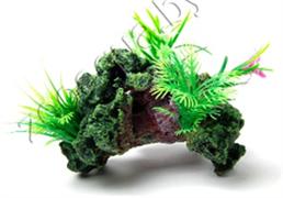 Биокерамика Риф с растениями К-113