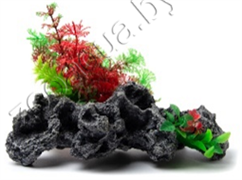 Биокерамика Риф с растениями К-111