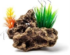 Биокерамика Риф с растениями К-106