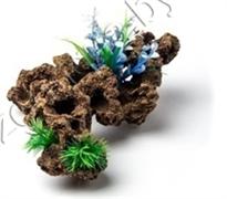 Биокерамика Риф с растениями К-102