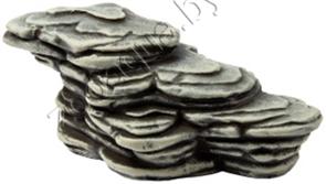 Камень для черепах серый, К-26c