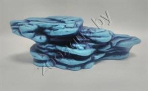 Камень для черепах (синий), К-25с