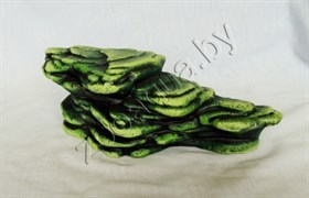 Камень для черепах (зелный), К-25з