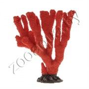 Коралл пластиковый (мягкий) красный 25х8х24см