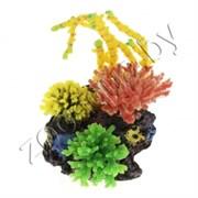 Композиция из кораллов пластиксиликон 23х12х22.5см