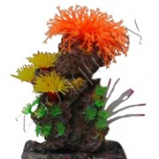 Композиция из кораллов пластиксиликон 20х15х26см