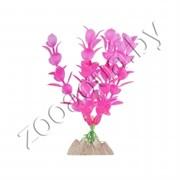 Растение пластиковое GLOFISH флуоресцентное розовое 13см