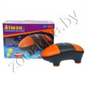 Компрессор Atman PP-400 супертихий для аквариумов до 400 литров, 2х180 лч, нерегулируемый