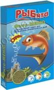 РЫБята Фито-МЕНЮ  ГРАНУЛЫ растительный корм для рыб, коробка 35г