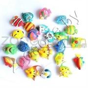 Пластиковые рыбки PF 1- PF 26 (набор 26 шт.) (KW)