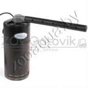 Фильтр-мини внутр.для мини аквариумов, угловой с дожд. флейтой и рег. потока, 6W