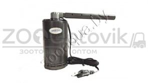 Фильтр-мини внутр. для мини аквариумов, угловой с дожд. флейтой и рег. потока, 6W (200-400лч) (Малый)