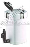 Фильтр внешний канистровый, 6W (400лч с наполнителями (губка 3 вида синтепон) 4 ступени фильтрации (Малый)
