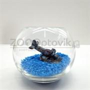 Аквариум Aqua круглый на 1.2 л. готовый комплект 3
