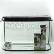 Аквариум AquaGold мера 110 л. (венге) готовый комплект с оборудованием
