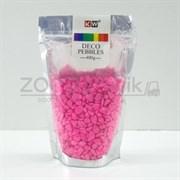 Гравий розовый 400 гр., 4-7мм., неоновый, светящийся