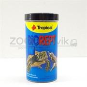 Biorept W Универсальный корм для всех видов черепах в виде плавающих палочек, 250 мл75 гр.(банка)