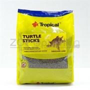 Turtle Sticks Универсальный корм для всех видов черепах в виде плавающих палочек, 1 кг.(пакет)