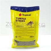 Turtle Sticks Универсальный корм для всех видов черепах в виде плавающих палочек, 300 гр (пакет)