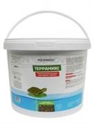 АкваМеню ТЕРРАМИКС11L3кг полноценный корм для водных черепах в виде плавающих гранул и гаммаруса