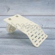 Плотик для черепах пластиковый на присосках 14х8 см