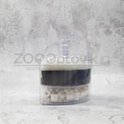 Аэрлифтный мультифильтр для аквариумов XY-2008 до 100 л. В комплекте губки и наполнитель 88 см