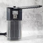 Фильтр внутренний угловой с поворотной дождевой флейтой и регулятором потока, 5W (450лч,акв. 60-120л) картридж губка