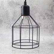 Светильник 08RL на зажиме, металлическая сетка, 200 Вт, 142 мм
