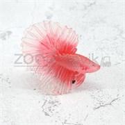 Рыбка силиконовая - петушок KW Zone A-015 Pink