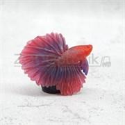 Рыбка силиконовая - петушок KW Zone A-015 Red