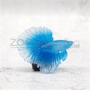 Рыбка силиконовая - петушок KW Zone A-015 Blue