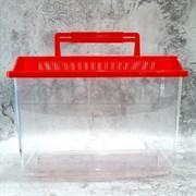 Аквариум пластик KW Zone PT-300  30 см, 6 литров