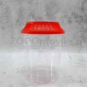 Аквариум пластик KW Zone PT-100 1 литр для петушков