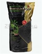 Субстрат I-609 для аквариумных растений и креветок премиум класса 1 л, гранулы 1,5-3,5 мм