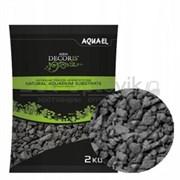 Грунт для аквариума базальтовый Aquael Aqua Decoris Basalt Gravel, 2-4 мм. 2 кг